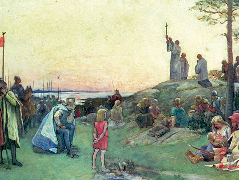 Heliga Birgitta • Heliga Birgitta helgonförklarades av påven flera år efter sin död (år 1391).