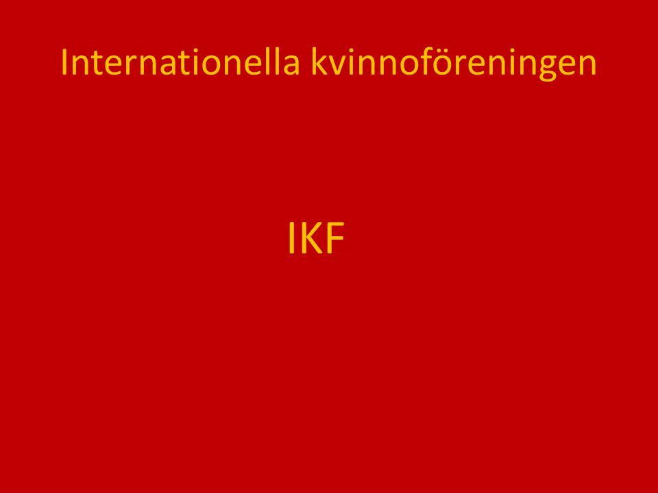 Internationella kvinnoföreningen IKF