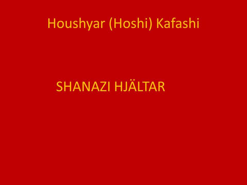Houshyar (Hoshi) Kafashi SHANAZI HJÄLTAR