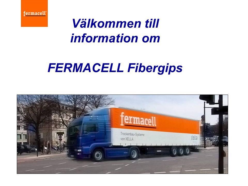 Innehåll  Introduktion av Fermacell & Xella  Fermacell affärs utveckling  Fabriker & Produkt Information  Kännetecken & Fördelar  Fermacell som professionel leverantör  Fermacell affärsfördelar  Säljsupport och utbildning