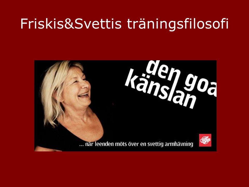 Friskis&Svettis träningsfilosofi