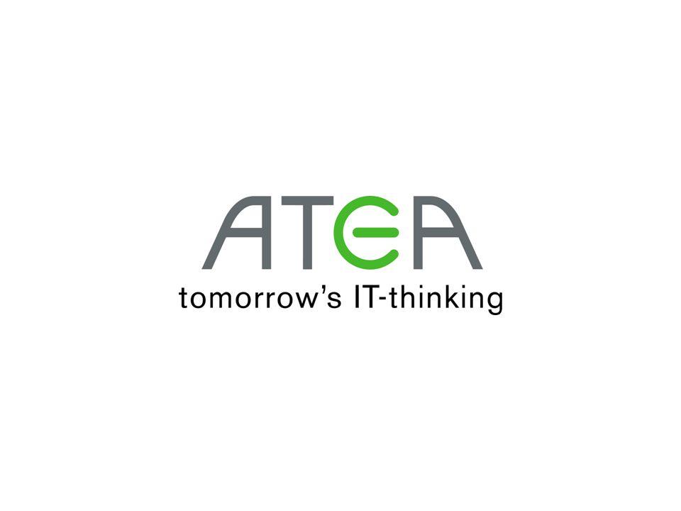 www.atea.se •Presentationen finns på webben •atea.se •Under rubriken Aktuellt •Idag från klockan 15.30
