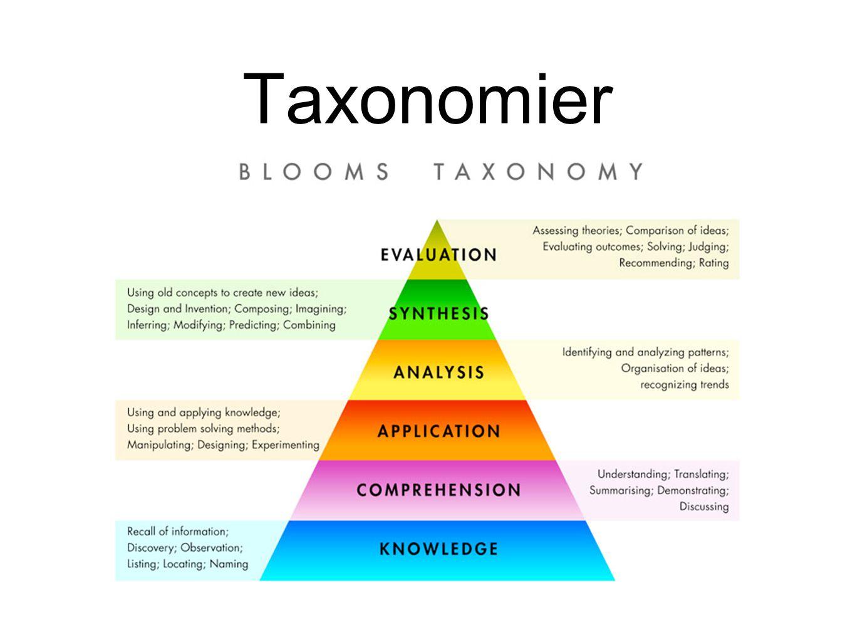 Taxonomier
