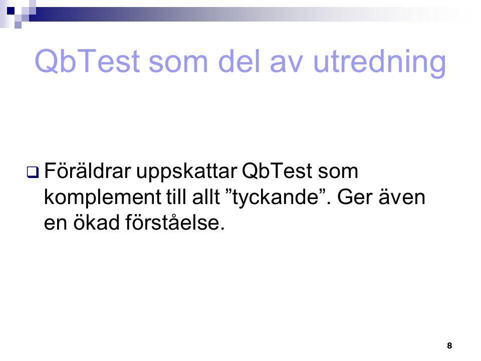 49  Test - retest reliabilitet: Accuracy: r = 0.95, P < 10- 9 Microevents: r = 0.91, P < 10- 5 (Teicher et al.