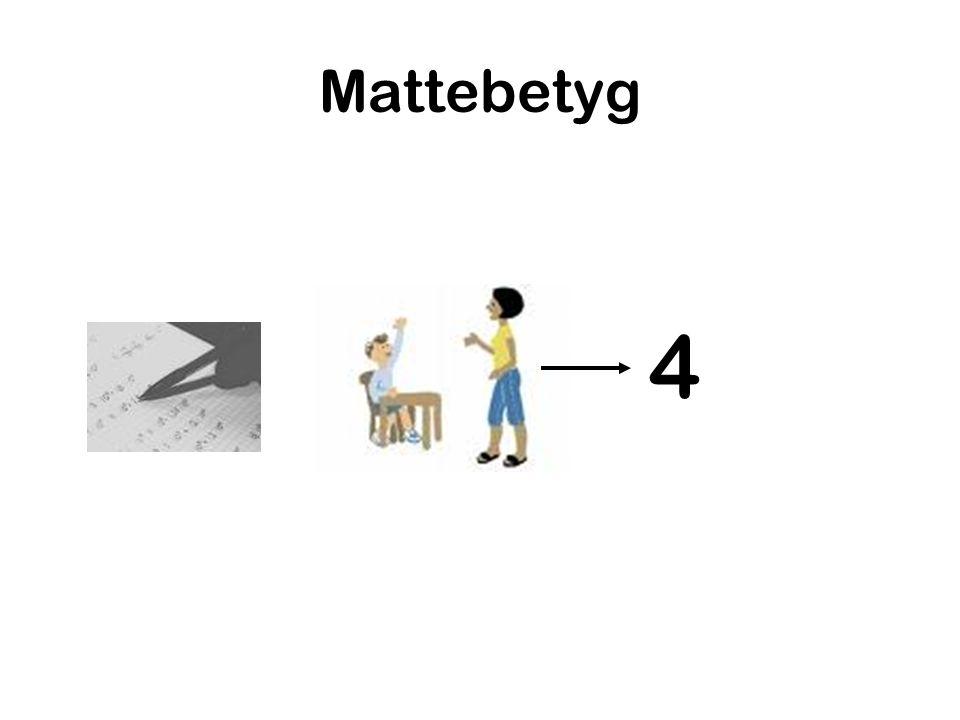 Mattebetyg 4
