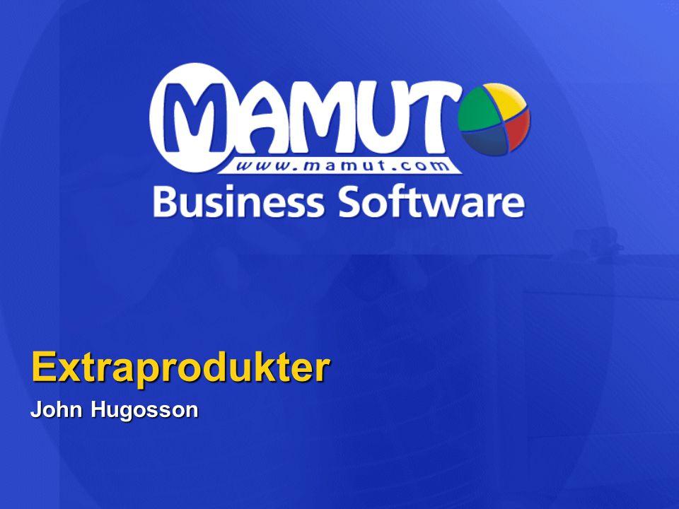 Extraprodukter  Kategorier  Tilläggsprodukter  Mamut Enterprise System (MES) - NYHET.