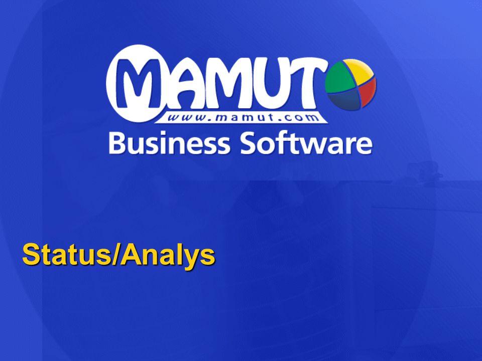 Status/Analys