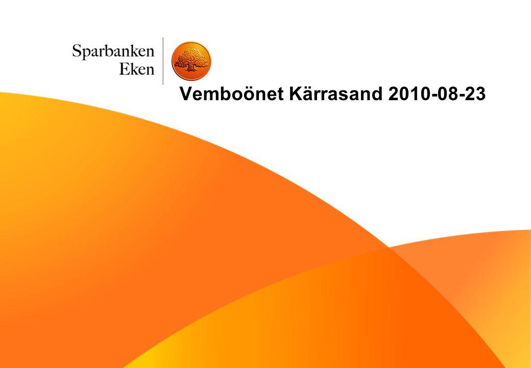 Vemboönet Kärrasand 2010-08-23