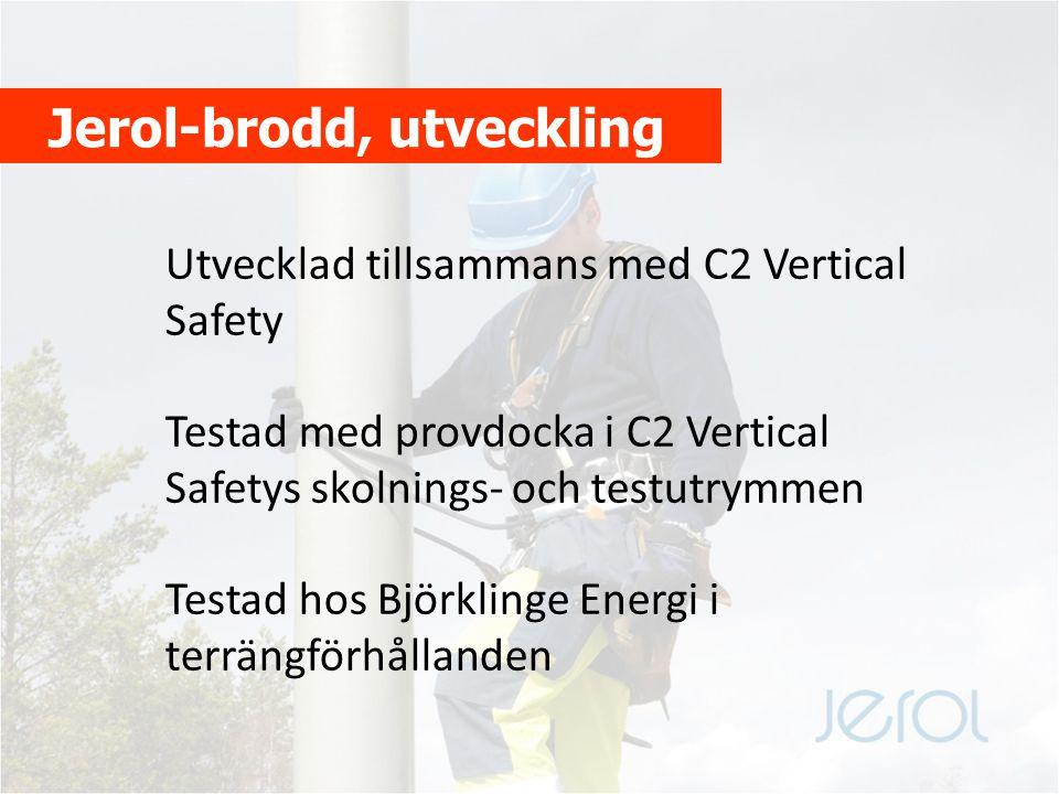 C2 Vertical Safety Torbjörn Larsson, skyddsingenjör Vattenfall Service Syd säger: C2 Vertical Safety är vår samarbetspartner när det gäller utbildning, fallskyddsprodukter och besiktning av utrustning.