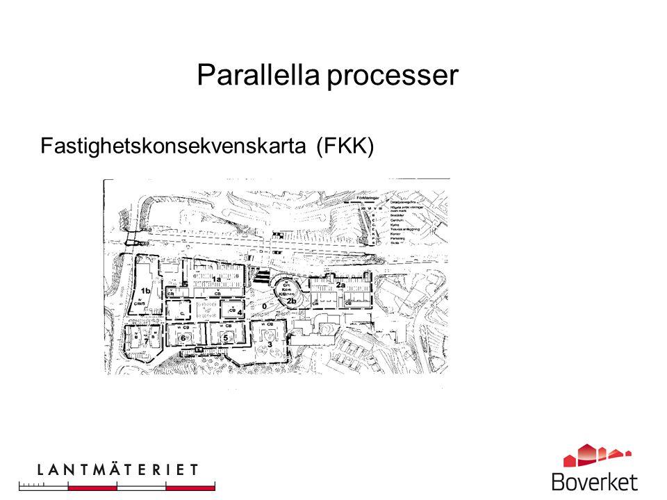 Parallella processer Fastighetsbildning Förrättningskarta (KA1)