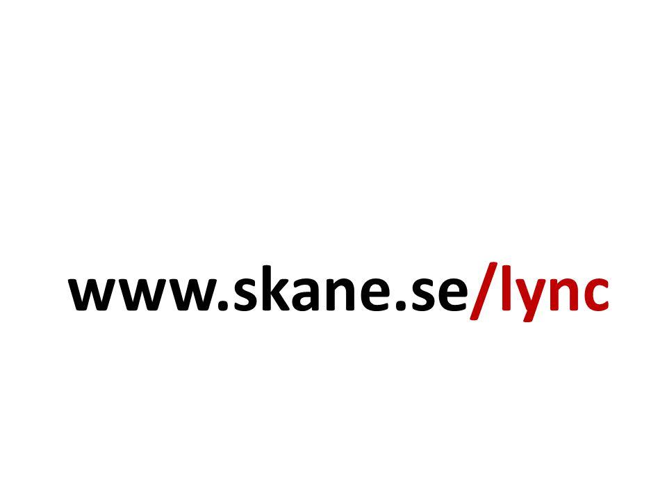 www.skane.se/lync