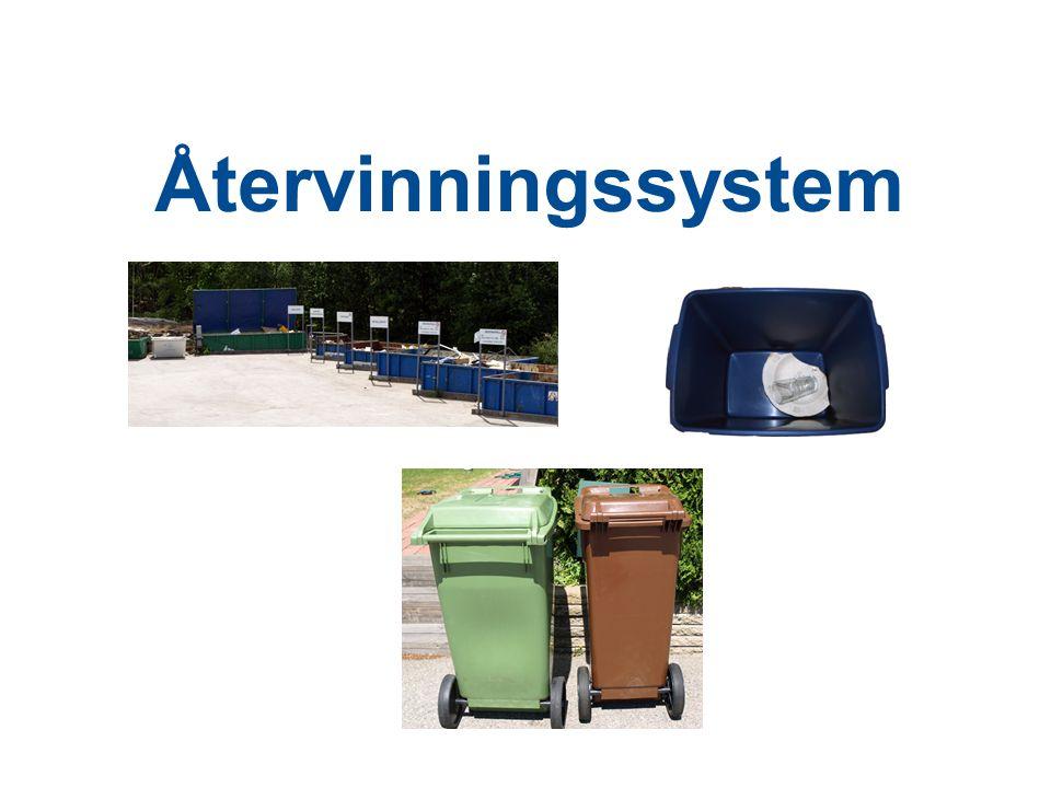 Återvinningssystem