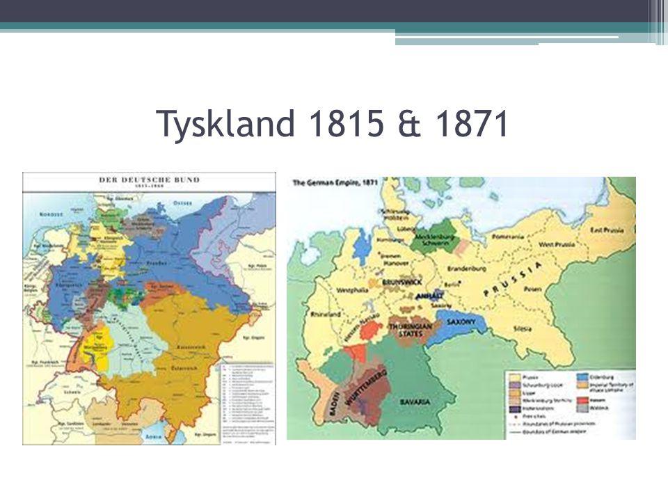 Tyskland 1815 & 1871