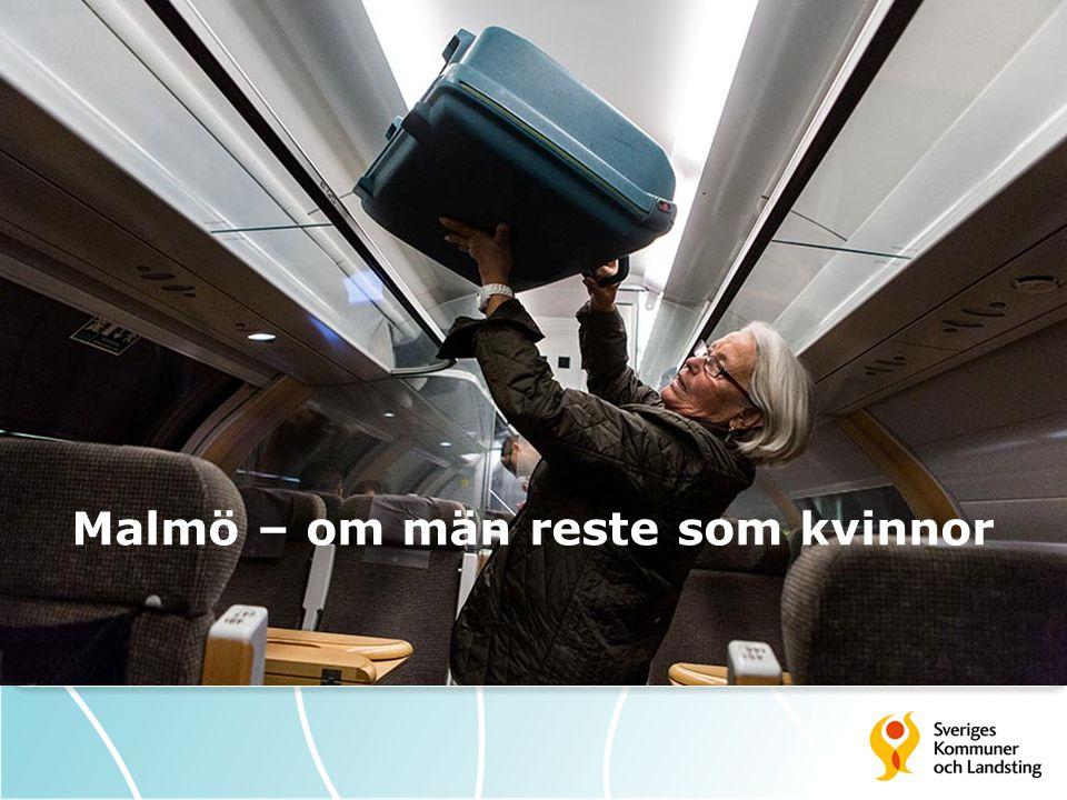 Malmö – om män reste som kvinnor