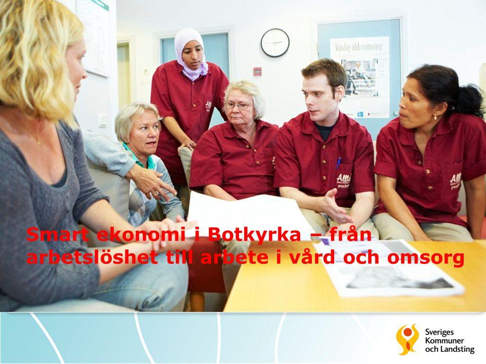 Sysselsättning i Botkyrka  Utlandsfödda kvinnor har lägst sysselsättning.