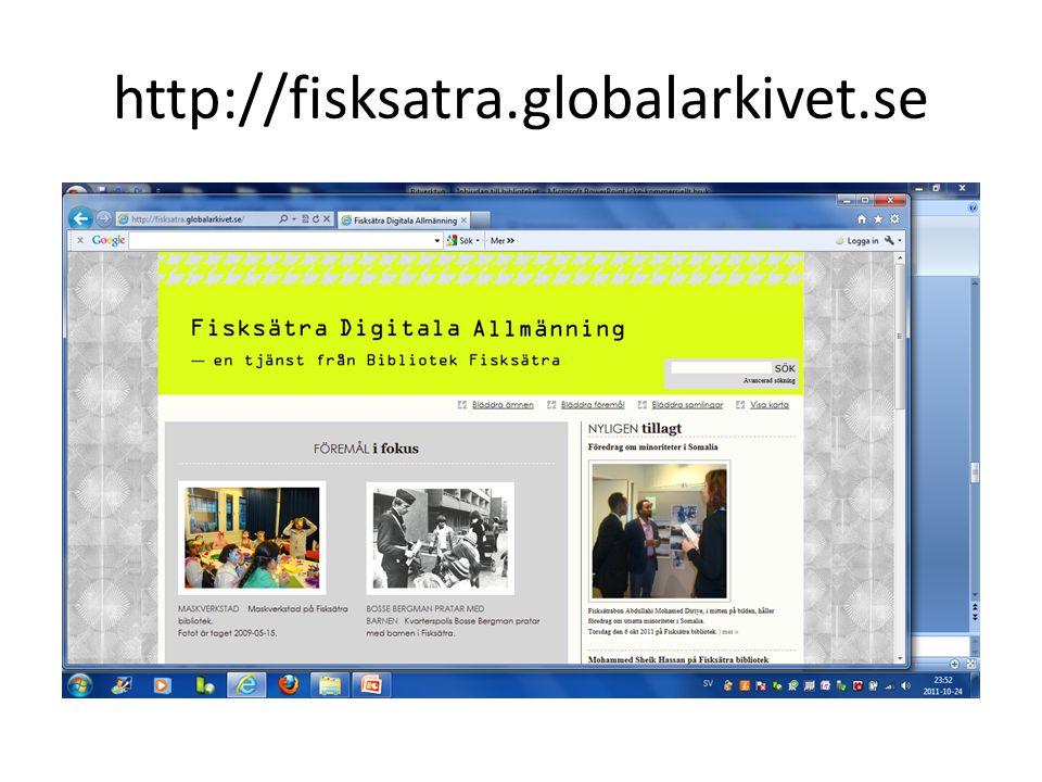 http://fisksatra.globalarkivet.se
