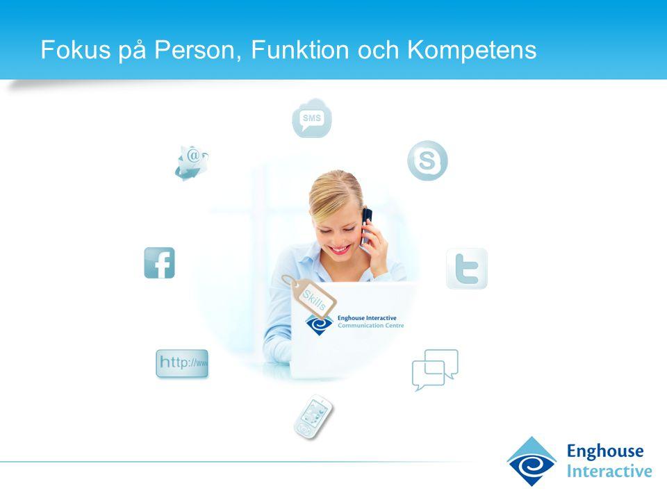 Fokus på Person, Funktion och Kompetens Skills