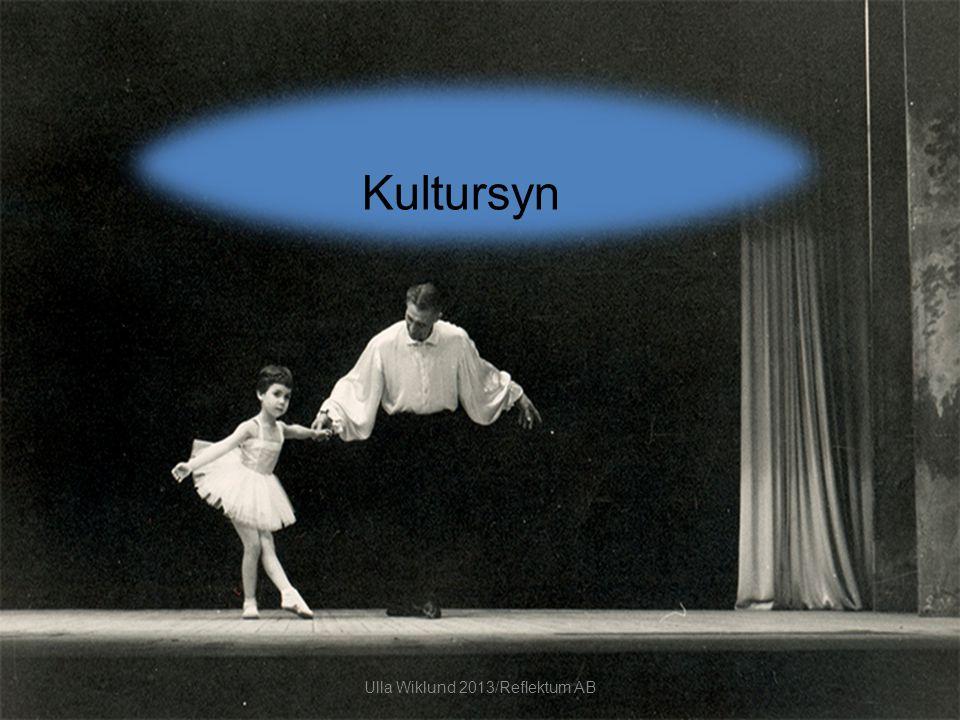 Kultursyn Ulla Wiklund 2013/Reflektum AB
