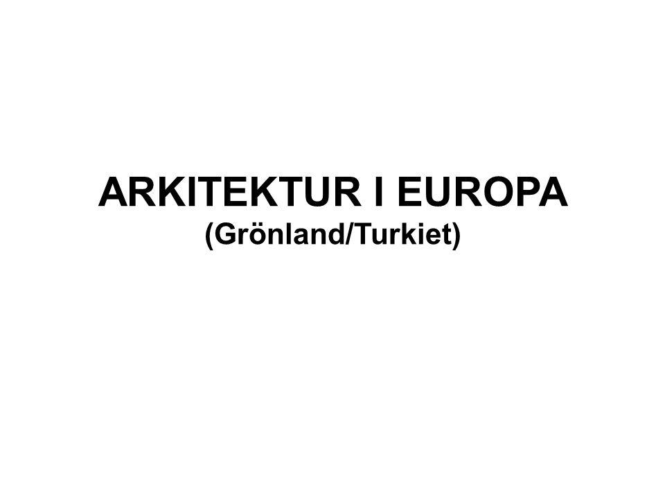 FRANKRIKE GOTISK ARKITEKTUR Den gotiska arkitekturen utvecklades i Frankrike under 1100-talet och var idealet fram till någon gång på 1300-talet.