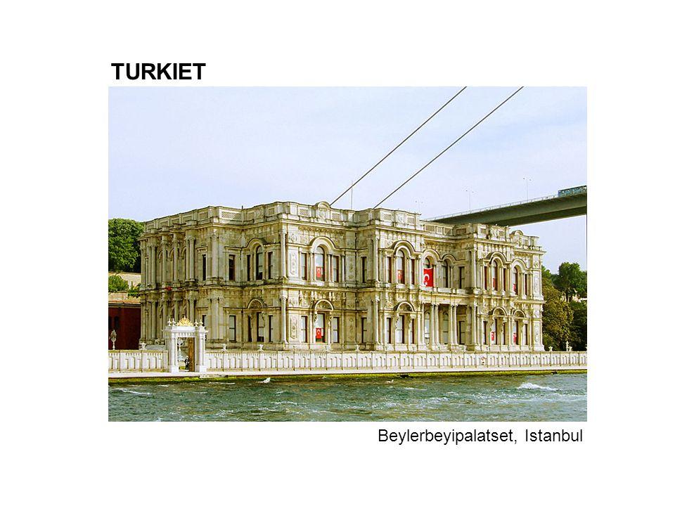 TURKIET Beylerbeyipalatset, Istanbul