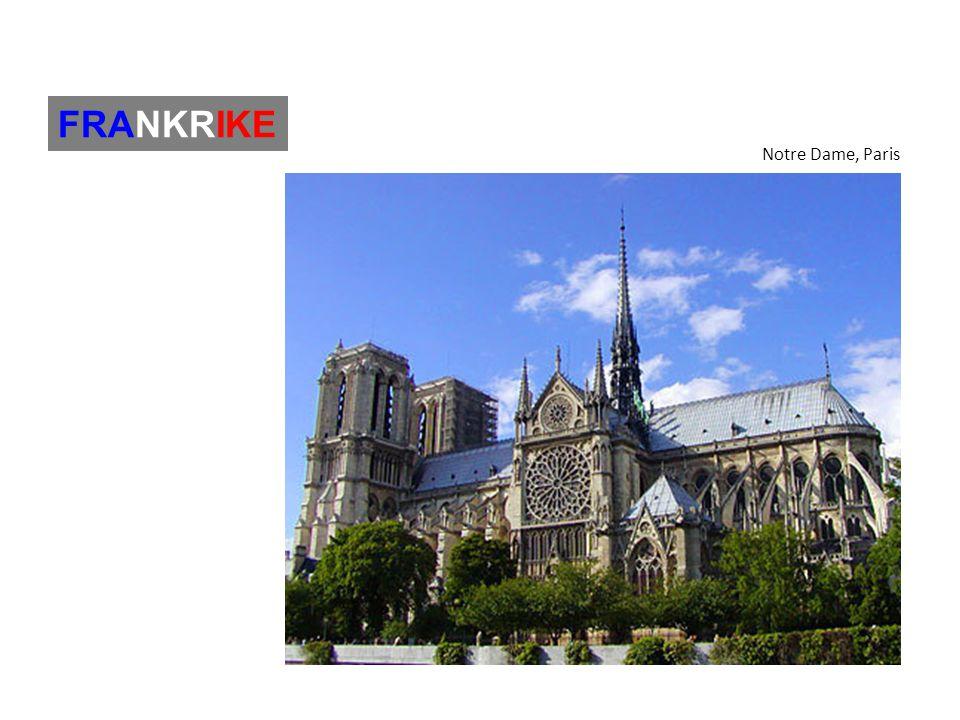 Notre Dame, Paris FRANKRIKE