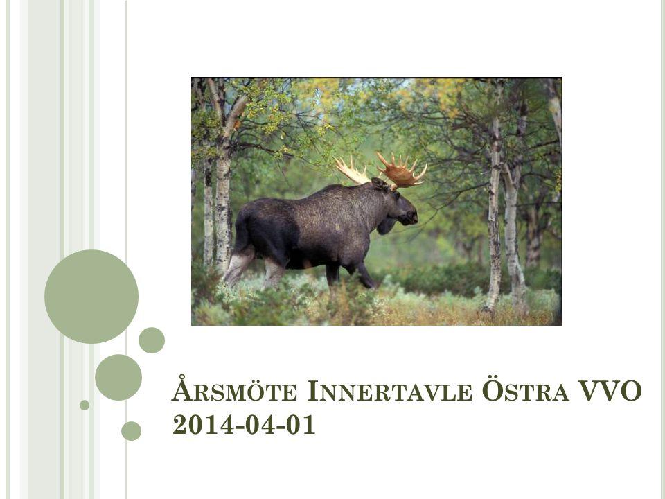 Å RSMÖTE I NNERTAVLE Ö STRA VVO 2014-04-01