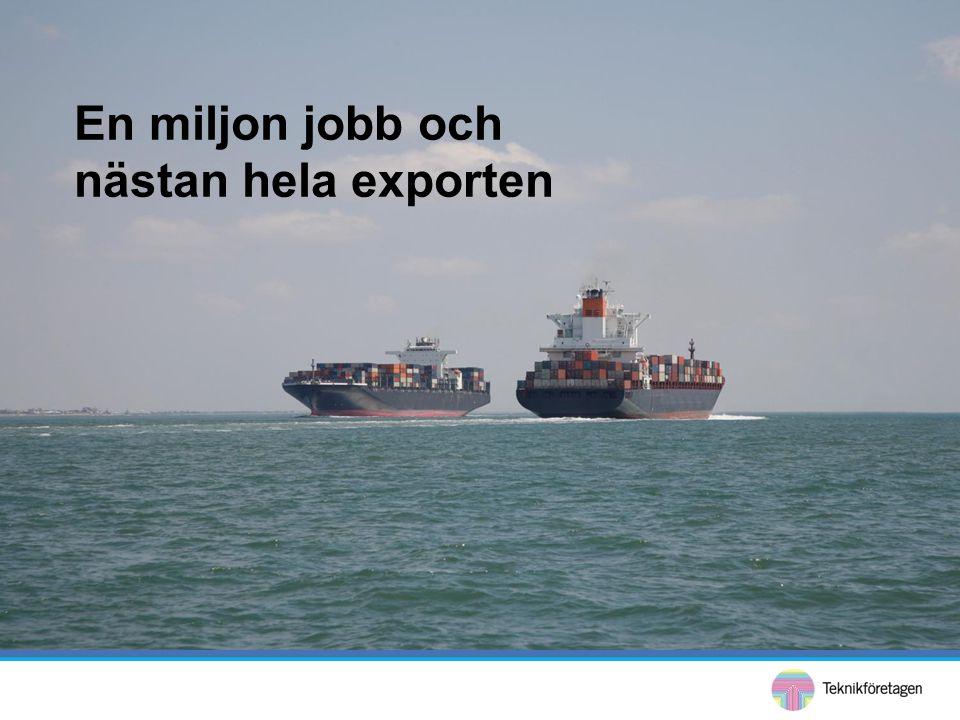 •Efterfrågan på arbetskraft med högre formell utbildningsnivå ökar varje år •Svensk industri måste klara kompetensförsörjning och produktivitetsökning för att konkurrera på global marknad För fortsatta innovationer och konkurrenskraft