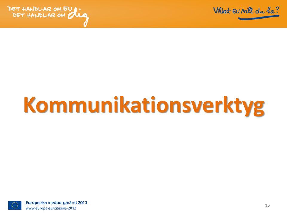 Kommunikationsverktyg 16