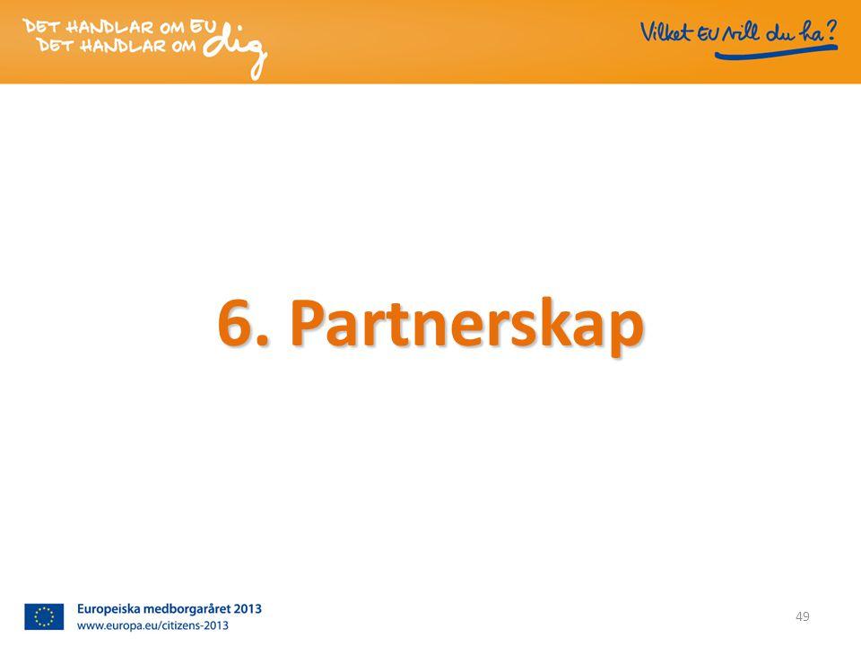 6. Partnerskap 49
