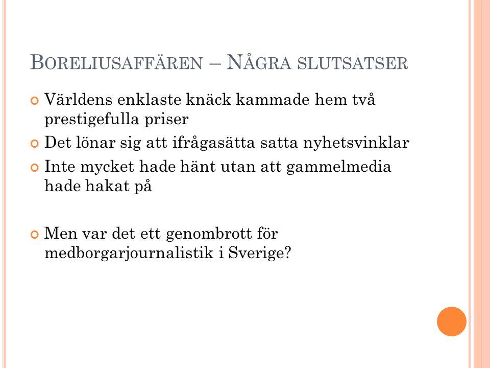 M EDBORGARJOURNALISTIK ?.