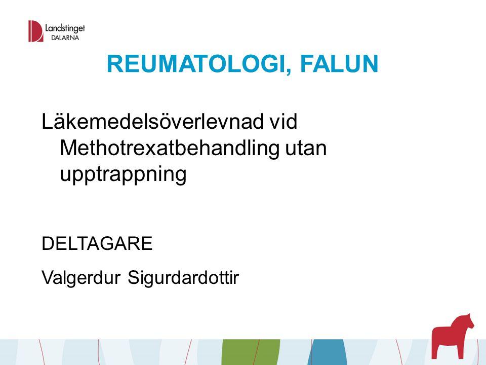 REUMATOLOGI, FALUN Reuma-Wiki - En täckande informativ intern klinikspecifik webb-plats.