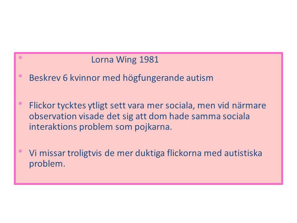 Hur skall lättare kunna upptäcka och hjälpa flickor med autism.