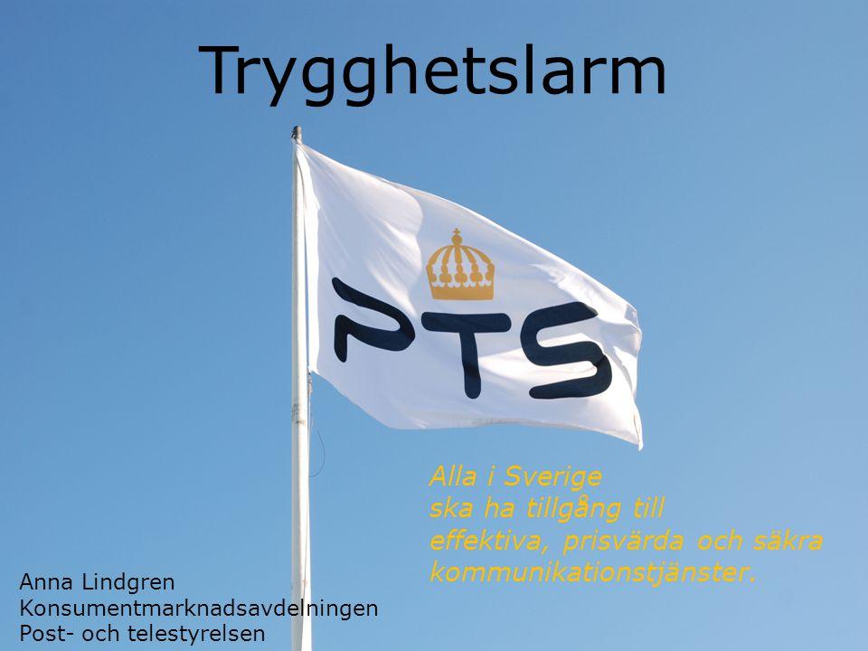 Post- och telestyrelsen Nn a Alla i Sverige ska ha tillgång till effektiva, prisvärda och säkra kommunikationstjänster.