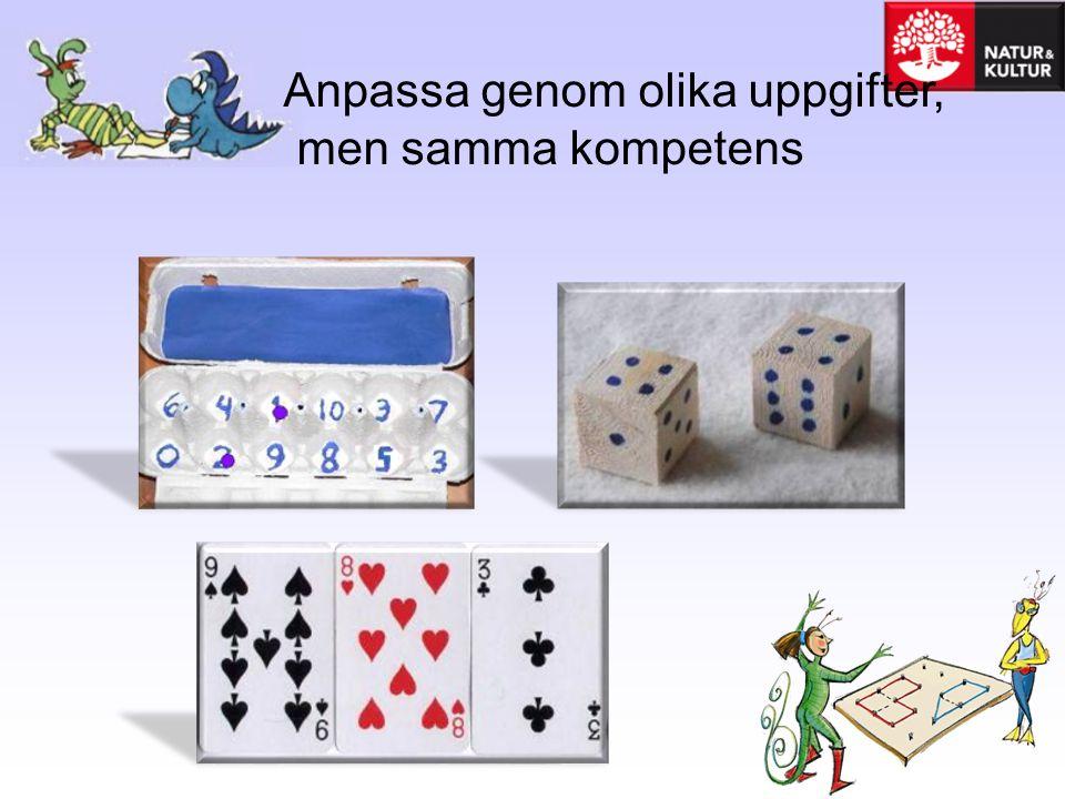 Spargrisen •Kasta 2 eller 3 tärningar Varje spelare ritar en spargris på ett ark.