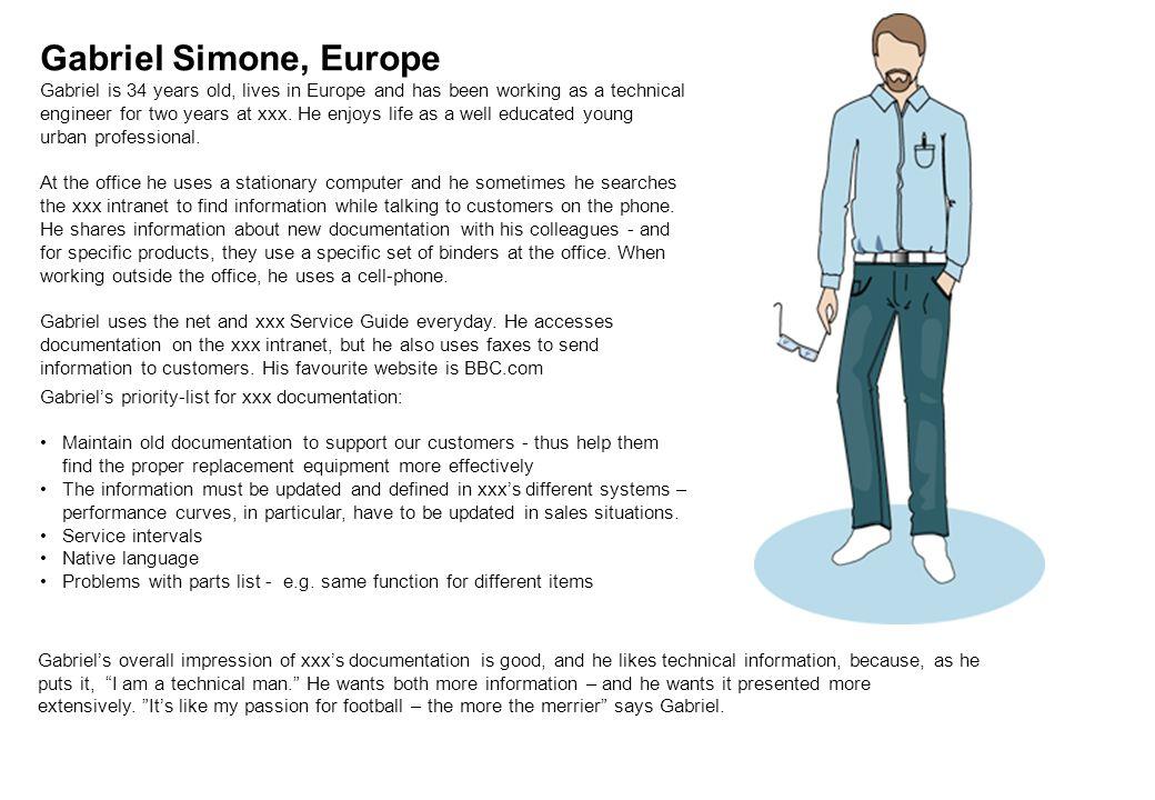 Underlag till Peronas KH Arbetsledaren Roland -Här har jag kontroll •45-65 år •Klädsel: Hel & Ren Skjorta, jacka och jeans • Hårdför inköpare •Priskänslig •Söker info på webben Byggare i en- eller tvåmansföretag, Mats - Här hör jag hemma •30-45 år •Klädsel: moderiktiga arbetskläder med gadgets •Har KH som kompis och kompetensbollplank •Behöver hjälp från webben med allt som inte rör byggandet •Positiv till att få info till mobilen.