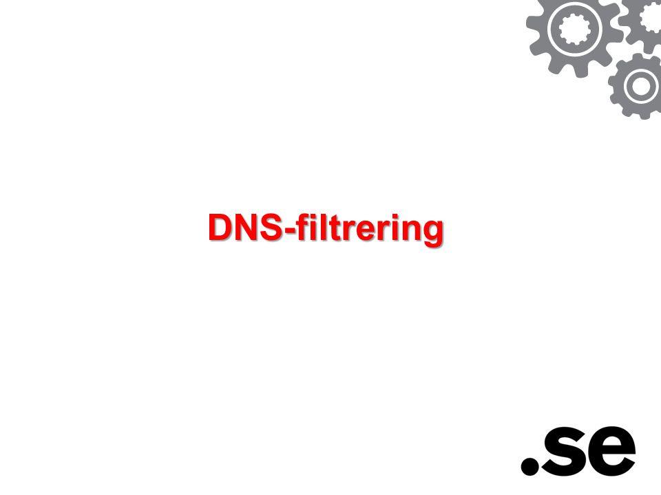 DNS-filtrering
