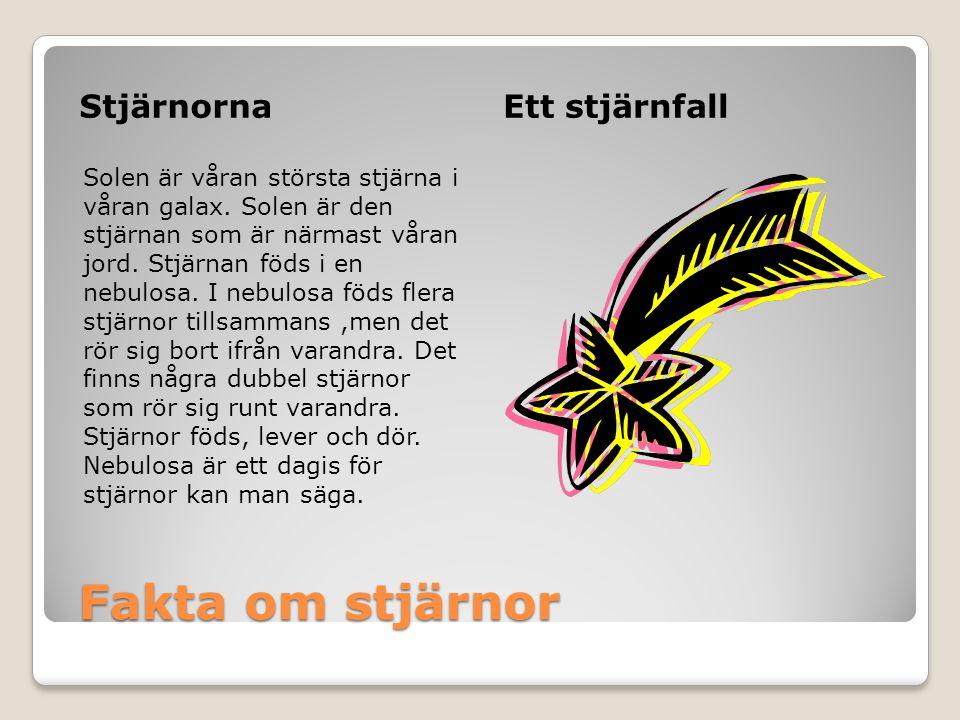 Källor Stora läs och lär-Maria Tengnäs Rymdboken-Beta Pedagog Bilder: clipArt