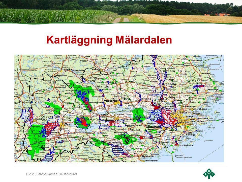 Sid 3 | Lantbrukarnas Riksförbund Göta älvs VSO Primär zon 424 km2 Tertiär zon 1717 km2
