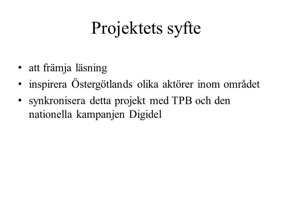Organisation • Styrgrupp • Referensgrupp • Projektgrupp