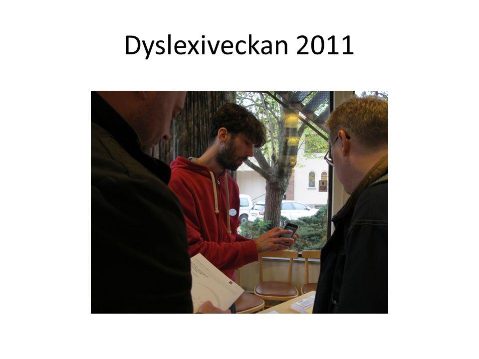 Dyslexiveckan 2011