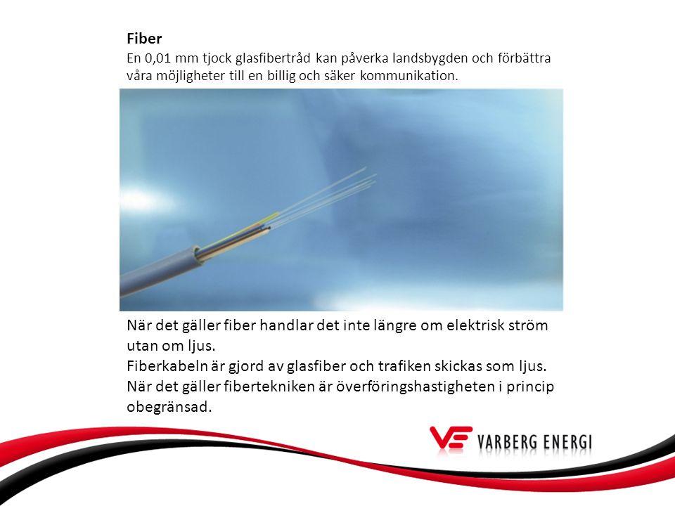 Fiber En 0,01 mm tjock glasfibertråd kan påverka landsbygden och förbättra våra möjligheter till en billig och säker kommunikation.