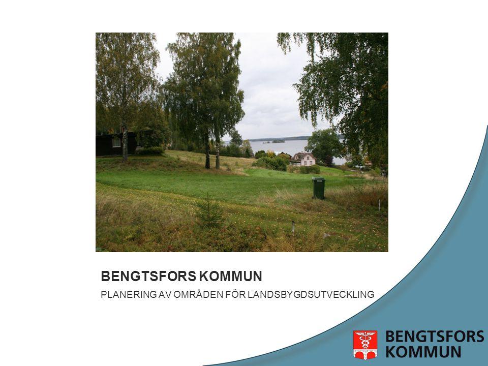 Exempel; Herrenäs Permanent/fritidshus Förbättrat serviceunderlag Bybildning med permanentboende 5 km till närmaste dagligvaruaffär
