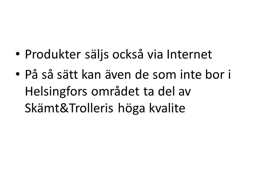• Via en vanlig butik som befinner sig en aning utanför Helsingfors centrum • Om konceptet visar sig lönsamt kan, nya butiker öppnas i andra finska st