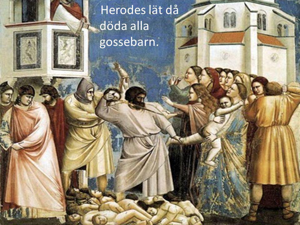 När Herodes dör återvänder Josef, Maria och Jesus till Nasaret.