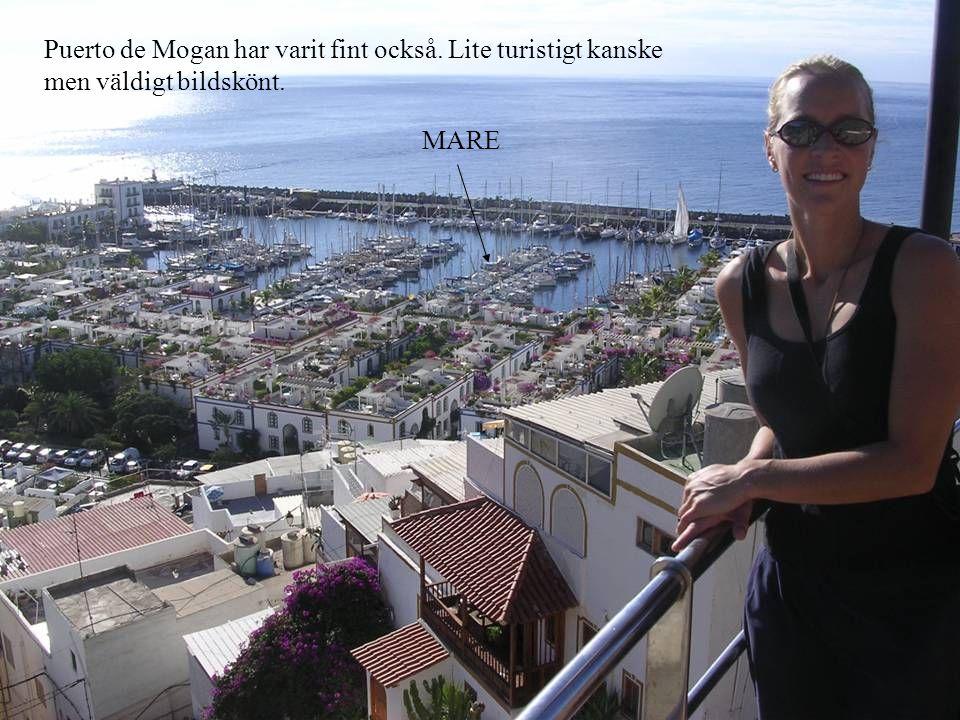 Puerto de Mogan har varit fint också. Lite turistigt kanske men väldigt bildskönt. MARE