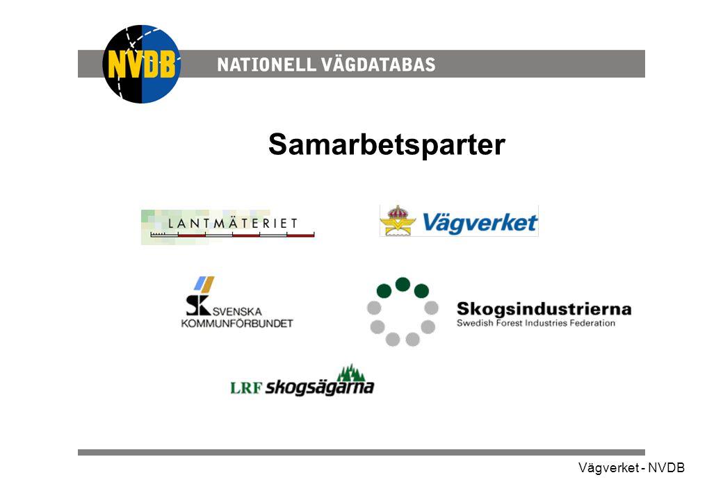 Vägverket - NVDB Samarbetsparter