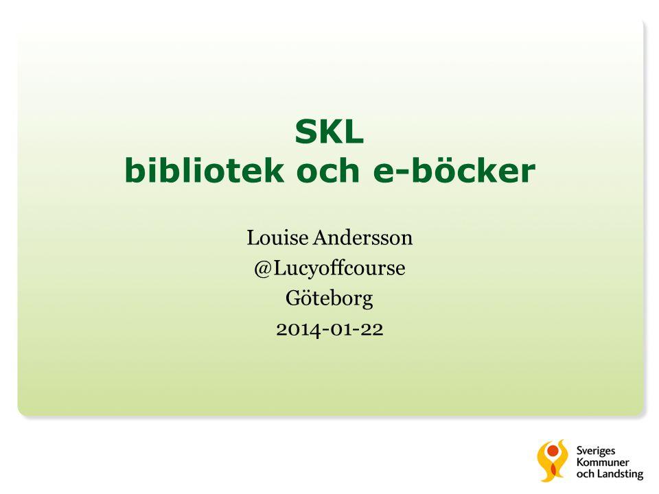 Kontakt louise.m.andersson@skl.se
