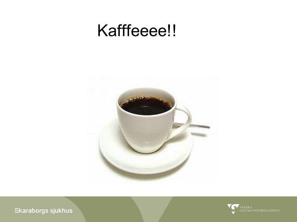 Skaraborgs sjukhus Kafffeeee!!