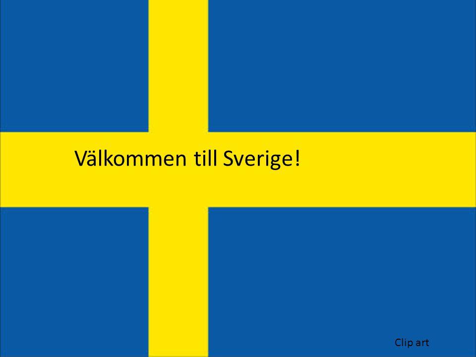 Välkommen till Sverige! Clip art