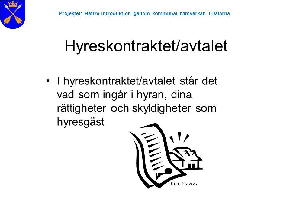 Projektet: Bättre introduktion genom kommunal samverkan i Dalarna Restavfall Till exempel:  Termosar  Porslin / keramik  Elsäkringar / proppar  Saker av blandmaterial  Sprutor & spetsar OBS.